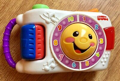 Fisher Price - Laugh & Learn Toy Camera - Lights & Sounds - Counting - Education • 4.99£