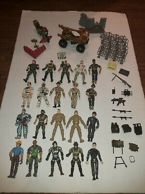 $ CDN19.97 • Buy Lot Of 20 GI Joe Figurines Weapons Vehicles And Accessories