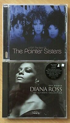 The Pointer Sisters  Best Of /. Diana Ross  Ultimate Collection X 2 Cds • 1.99£