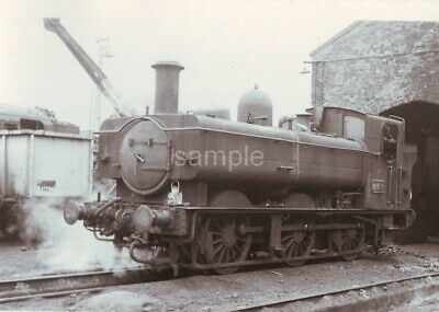 YEOVIL TOWN RAILWAY SHED, SOMERSET. 1964 Loco; 6419 PHOTO 5½  X 3½  • 1.49£