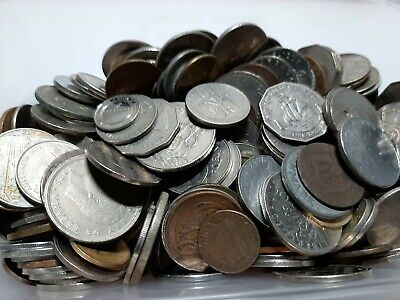 Mixed Old Coins Joblot Large Collection 1.5kgs Foreign  • 1.71£
