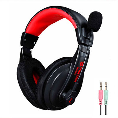 AU24.95 • Buy PC Gaming Headset Computer Headphones For Game PS4 Mac XBOX One 3.5mm With Mic