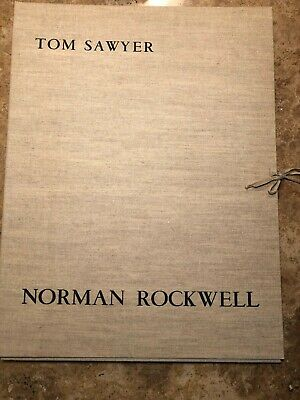 $ CDN1564.08 • Buy SBSOS Norman Rockwell Tom Sawyer Collection SIGNED ARTIST PROOFS
