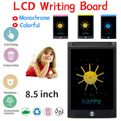 AU10.06 • Buy 8.5''inch LCD Writing Drawing Tablet Pad Notepad Board Portable Graphic Kid DIY