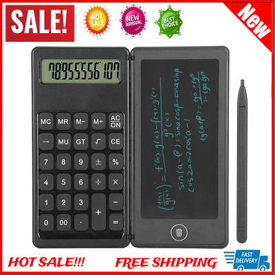 AU21.42 • Buy 6''inch LCD Writing Drawing Tablet Pad Notepad Board Graphic Kid DIY Calculator