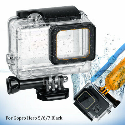 $ CDN12.57 • Buy Waterproof Housing Case For GoPro Hero 7 Black 6 5 Protective Shell With Bracket