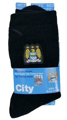£3.99 • Buy Mens Manchester City Socks Official Merchandise 3 Styles Fathers Day 6-11