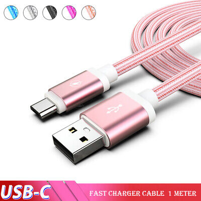 $ CDN3.30 • Buy 2x For Samsung Galaxy S8 S9 S10 S20 Ultra Note 20 Fast Charger USB Type C Cable