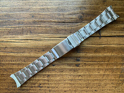 20mm Oyster Stainless Steel Bracelet Watch Strap Replacement New • 5£