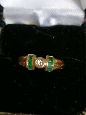 Gorgeous 9ct/375 Ring - Art DECO Style • 80£
