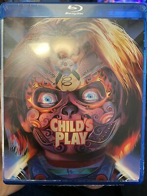 NEW CHILDS'S PLAY BLU RAY 1988 Special Cover Art Included! WOW • 5.69£