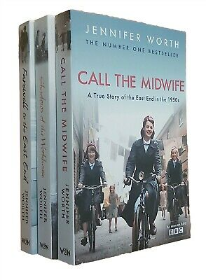 Complete Call The Midwife 3 Books Trilogy Jennifer Worth Book TV Series New • 9.99£