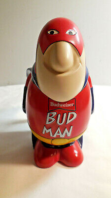 $ CDN19.57 • Buy Vintage Budweiser Bud Man Beer Stein  Ceramic Budman Collectors Edition