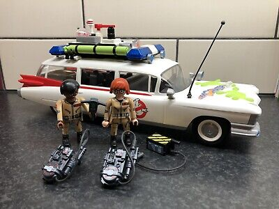 Playmobil 9220 Ghostbusters Ecto-1 Vehicle With Lights And Sound, Comes With Box • 6£