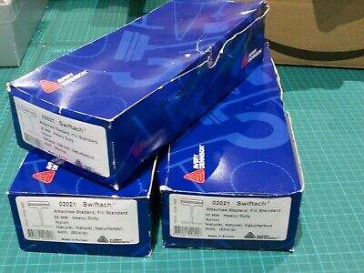 3 Boxes Avery Dennison Attachments, Clear Kimble For Standard Tagging Gun 20mm • 10£
