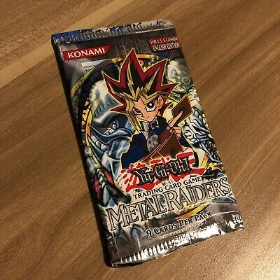 Original Yu-Gi-Oh! Metal Raiders 2004 Booster Pack • 39.99£
