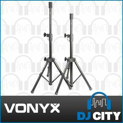 AU35 • Buy Vonyx COMPACT SPEAKER STANDS PAIR 35mm 20Kg PA Professional DJ Stage 180553