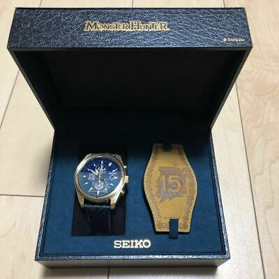 $ CDN1263.80 • Buy JAPAN Monster Hunter 15th SEIKO Collaboration Watch Limited 1000 ZinOgre SBPY156