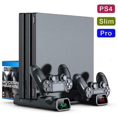 AU44.17 • Buy PS4/ Pro/ PS4 Slim Controller Console Vertical Cooling Stand Charging Station