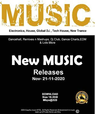 New Mixed Music Releases 21.11.20 Nov 2020 Download  Mp3. • 6.50£