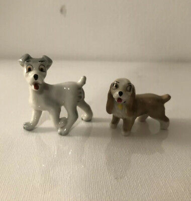 WADE Whimsies  Lady And Tramp  From Hat Box Series 1956-1965 • 5£