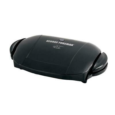 George Foreman 5-Serving Removable Plate Electric Indoor Grill And Panini Press, • 36.91£