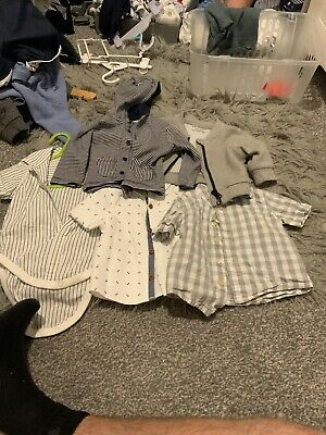 Baby Boy Bundles0 To 3 Months And 3 To 6 Months • 1.10£