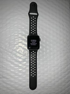 $ CDN195.51 • Buy Apple Watch Series 3 , 38 Mm. NIKE EDITION Space Gray, Black Sport Band