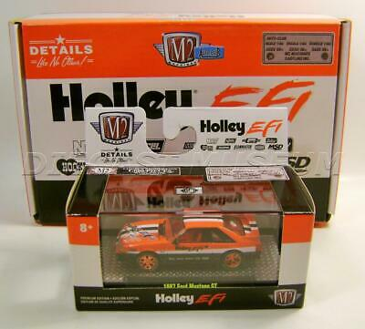 $89.95 • Buy 1987 '87 Ford Mustang Gt Chase Holley Efi Auto-club M2 Machines Diecast 2020