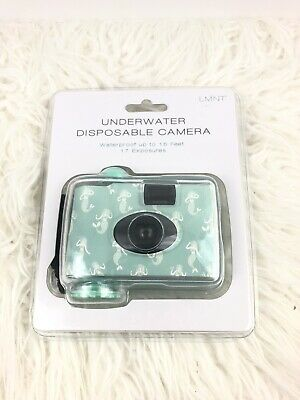 £8.16 • Buy New LMNT Underwater Disposable Camera Teal Mermaids