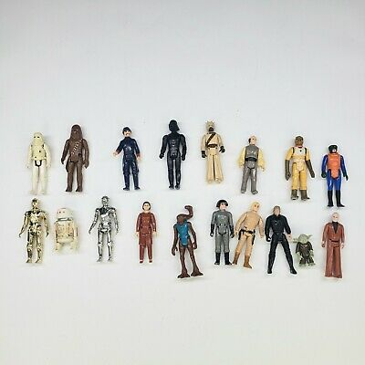 $ CDN64.88 • Buy Vintage Star Wars 18 Action Figure 3.75 Lot 1977 - 84 Good Condition Some Great