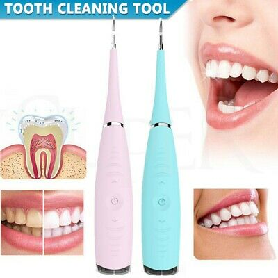 AU13.69 • Buy Electric Tooth Cleaner For Teeth Stain Ultrasonic Cleaning Oral Irrigator Tools