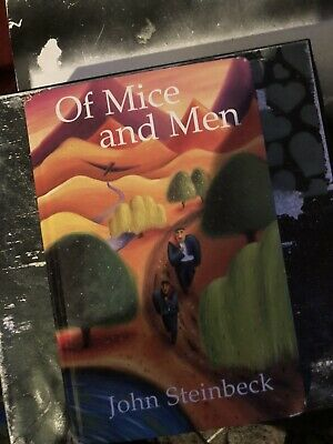 Of Mice And Men Book John Steinbeck Used • 0.99£