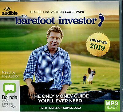 AU38 • Buy Barefoot Investor The Only Money Guide You'll Ever Need Mp3 Ready CD NEW 2019