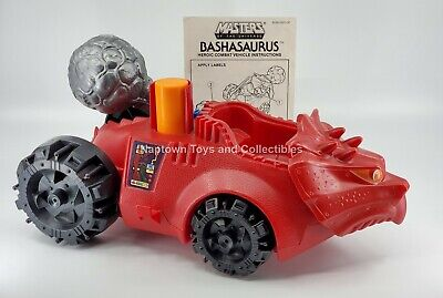 $34.99 • Buy Masters Of The Universe BASHASAURUS Vehicle COMPLETE W/INSTRUCTIONS Vintage MOTU