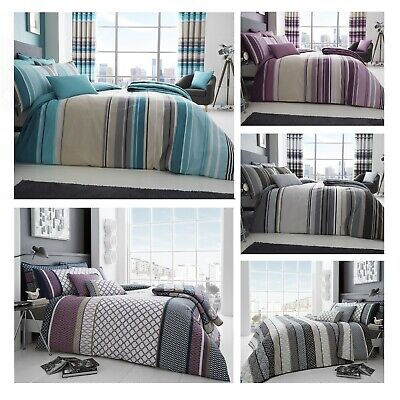 £22.99 • Buy Luxury Cotton Blend 200 TC Printed Modern Duvet Sets And Accessories