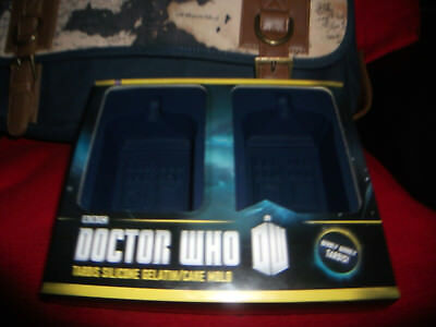Dr.Who Silicone Chocolate Mold Mini Cake OVEN Safe Mold Ice-Candy-Soap Mold BBC • 26.19£