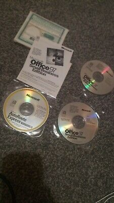 Microsoft Office 97 Small Business OEM Edition Installation CDs Word Excel  • 7.49£
