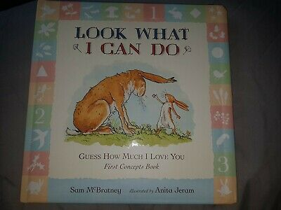 Guess How Much I Love You: Look What I Can Do: First Concepts Book By Sam McBra… • 2.99£