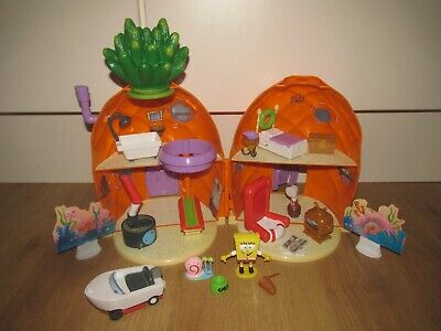Spongebob Squarepants Rare Pineapple House Playset With Accessories & Figures  • 70£