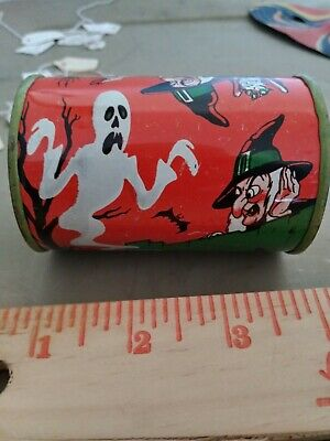 $ CDN22.05 • Buy Vintage Rare Original HALLOWEEN Toy Rattle Witch Black Cat Ghost Noisemaker 50's