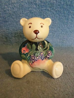 Hand Painted Jeanne McDougal Pottery Bear (ADORABLE) • 9.99£