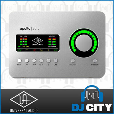 AU949 • Buy Universal Audio Apollo Solo Thunderbolt 3 Audio Interface
