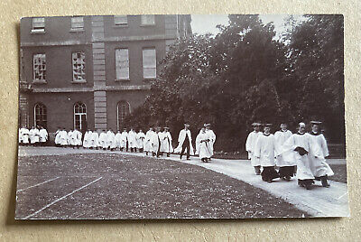 Radley College Oxfordshire Real Photographic Postcard • 15£