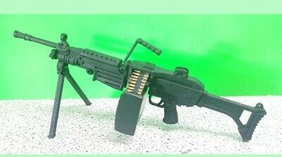 $52.88 • Buy 1/6 Scale M-249 Machine Gun 21st Century Toy Weapon For 12  Figure 12 Inch