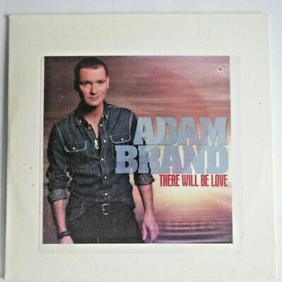 AU10 • Buy Adam Brand - There Will Be Love  Promo Card Sleeve CD