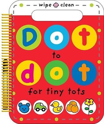 Dot To Dot For Tiny Tots Wipe Clean Activity Book • 2.64£