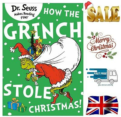 £6.05 • Buy How The Grinch Stole Christmas New Paperback Book Best Gift For Kids