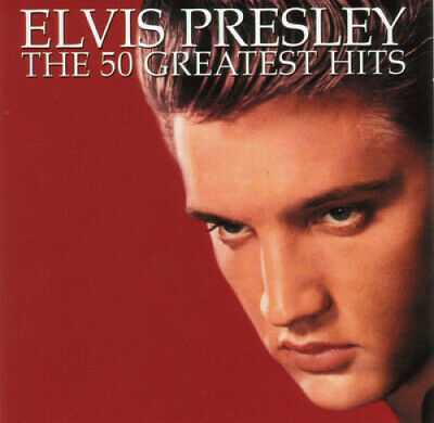 The 50 Greatest Hits By Elvis Presley • 42.07£