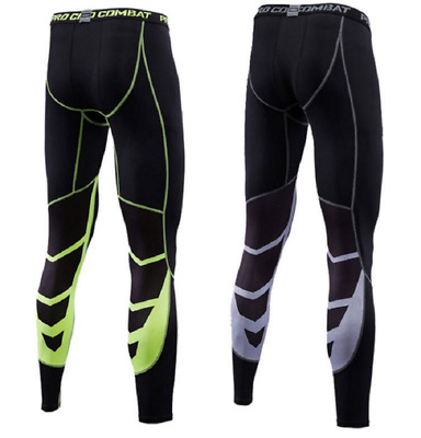 Men Boy Thermal Compression Tights Base Layer Warm Running Gym Trousers Sport UK • 12.06£